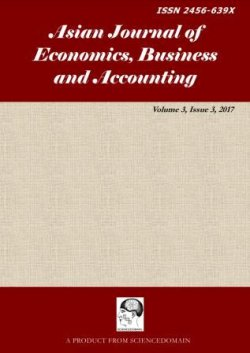 Asian Journal of Economics, Business and Accounting