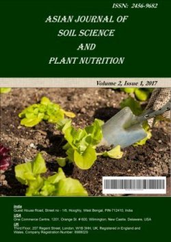 Asian Journal of Soil Science and Plant Nutrition