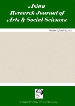 Asian Research Journal of Arts & Social Sciences
