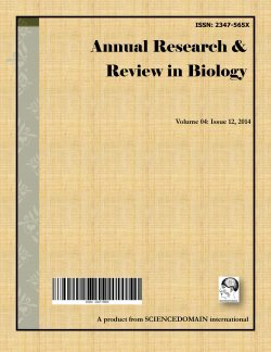 Annual Research & Review in Biology
