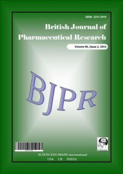 British Journal of Pharmaceutical Research