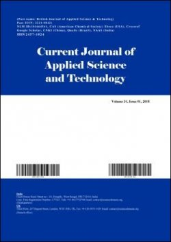 Current Journal of Applied Science and Technology