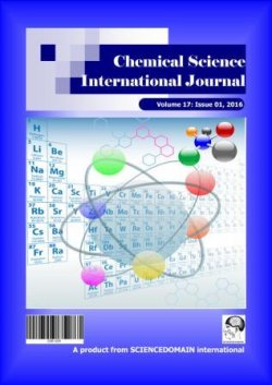 Chemical Science International Journal