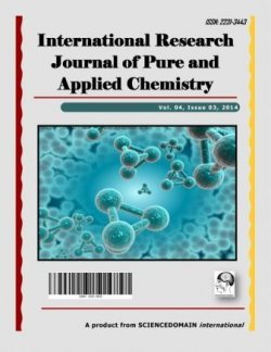 International Research Journal of Pure and Applied Chemistry