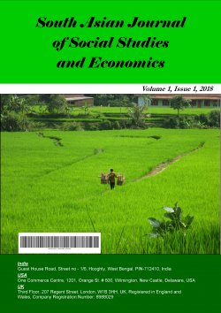 South Asian Journal of Social Studies and Economics